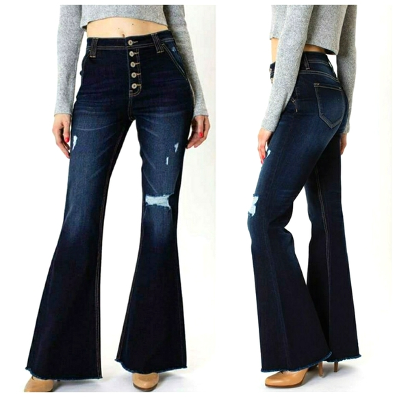 Kancan Jeans Kancan Button Fly Flare Jeans Poshmark
